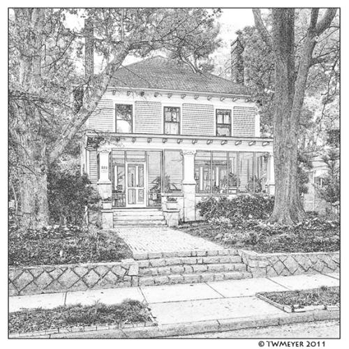 Leila Ross Wilburn designed home in Decatur Georgia USA